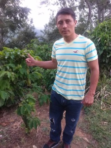 Maria's Uncle Juan took us into the mountains near Ahuachapán, where we saw a fields of coffee,  I tasted a raw coffee bean and drank my first cup of coffee,  ever in life. Her uncle is a professional soccer player and plays for a professional team in El Salvador.
